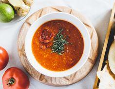 How to Green   Рецепт марокканского томатного супа
