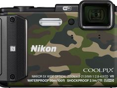 Three handy Nikon digital cameras for business travellers.