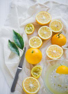 Meyer Lemonade Recipe with Rosemary | @whiteonrice