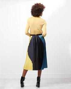 Multi Colour Pleat Skirt | Jigsaw