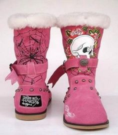 Ed Hardy Pink... love these but would want them in a different color