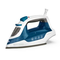 Black + Decker Black + Decker Easy Compact Iron with Burst of Steam and Vertical Steam Technology Iron Steamer, Fabric Steamer, Easy Fill, Clothes Steamer, How To Iron Clothes, Steam Iron, Car Cleaning, Water Tank, Storage Organization