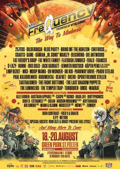 Flatbush Zombies, Limp Bizkit, Die Antwoord, G Eazy, Festival 2016, Bring Me The Horizon, Austria, Festivals, Bring It On