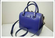 Kate Spade NY Wellesley Alessa hand bag in Holiday Blue