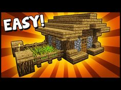 Simple, Compact & Efficient House! - Minecraft Tutorial - YouTube