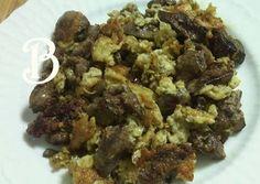 Συκωτάκια κοτόπουλου με αυγά συνταγή από vasiliki ver - Cookpad Main Dishes, Appetizers, Keto, Food, Main Courses, Entrees, Essen, Appetizer, Yemek