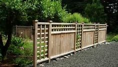 privacy fencing ideas - Bing Images