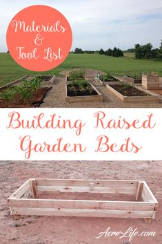 I love how easy the steps are for building a raised garden bed. Even I can build this!
