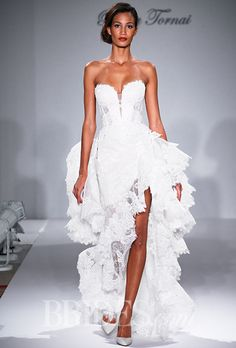 Brides: Pnina Tornai For Kleinfeld Wedding Dresses   Fall 2015   Bridal Runway Shows   Brides.com | Wedding Dresses Style