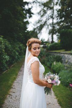 Classic Pink English Country Garden Wedding  #weddingdress #ad