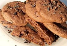 Sokáig puha csokis cookie Cookies, Food And Drink, Chocolate, Breakfast, Recipes, Cup Cakes, Foods, Tea, Crack Crackers