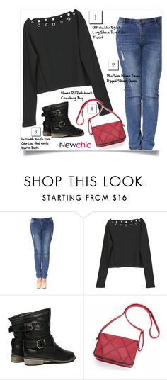 """NewChic Style #59"" by tawnee-tnt ❤ liked on Polyvore"