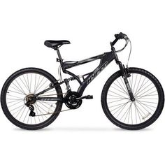 "26"" Hyper Havoc Full Suspension Men's Mountain Bike, Black - Walmart.com"