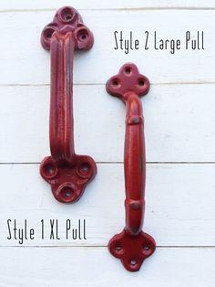 Barn Door Handle   Cast Iron, Rustic, Vintage, Antique, Shabby Chic,