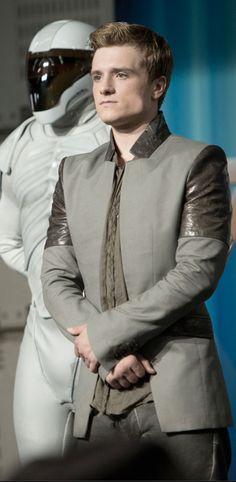 Josh Hutcherson as Peeta in 'The Hunger Games: Catching Fire