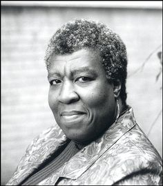 Octavia Butler. She won the highest honors in science fiction writing, the Nebula, and Hugo Awards. Photo by Cheung Ching Ming Photo.