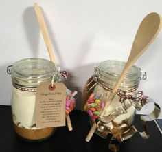Large gingerbread mix in a jar