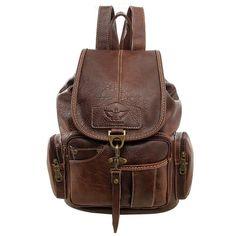[Visit to Buy] Women Backpack Vintage Backpacks for Teenage Girls Fashion Travel Pack Bags 2017 High Quality PU Leather Rucksack mochila Retro Backpack, Vintage Leather Backpack, Leather Backpack Purse, Backpack Brands, Drawstring Backpack, Ladies Backpack, Satchel Backpack, Leather Satchel, Vintage Backpacks