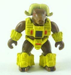 """Musky Ox #64 Battle Beast Series 3 Hasbro 1987 Toy Action Figure 2"""" Vintage #Hasbro"""
