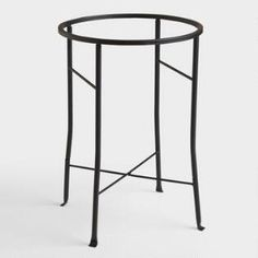 Black Metal Party Tub Stand