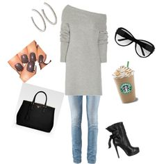 Fun, reminds me of what i wear for a day out on the town in NYC doing girly errands haha ;-) <3
