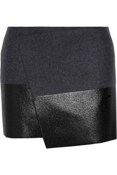I want this kind of asymmetric skirt. I'm on a quest to find one lol. preferably in all black