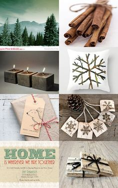 Rustic Holiday Decorations