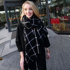 Get this windowpane scarf HERE for only $12.99!Get it in our Christmas sales deal right now! Lightning Deals will got your amazed! Exciting Deals of the Day, and savings on your wallet.