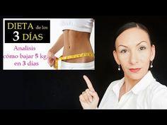 DIETA de los 3 DÍAS, BAJA HASTA 5 KILOS / ANÁLISIS / Nayla Lozada - YouTube