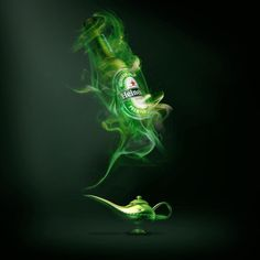 Nice ad to Heineken, liked the concept Visual Advertising, Creative Advertising, Advertising Design, Ad Design, Graphic Design, Ad Of The World, Beer Art, Drink Photo, Ads Creative