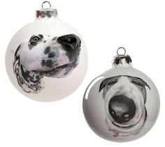 These Christmas ornaments by British ceramic designer Reiko Kaneko are utterly brilliant!