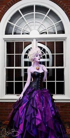 Ursula Little Mermaid cosplay Disney Cosplay, Disney Costumes, Cool Costumes, Broadway Costumes, Costume Ideas, Villain Costumes, Amazing Costumes, Amazing Cosplay, Best Cosplay