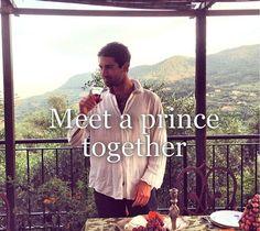 Meet a prince.
