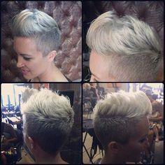 Faux Hawk Frisuren, asymmetrische Frisuren, brave Pixie Frisuren oder Frisuren mit perfekten Locken …. 12 Kurzhaarfrisuren, für jeden etwas dabei … - Neue Frisur