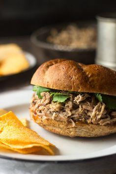 Slow Cooker Island Pulled Pork from @tatelee - This is your new favorite #pulledpork.