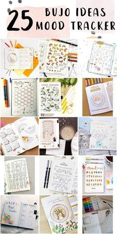 Bullet Journal Mood Tracker Design For Work - Bullet Journal Pages Bullet Journal Mood Tracker Ideas, Bullet Journal For Beginners, Bullet Journal Hacks, Bullet Journal Writing, Journal Pages, Bullet Journals, Journal Ideas, Tacker, School Themes