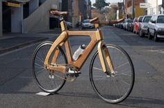 See more bikes made out of wood here and here!
