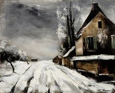 IMAGINA Y CREA: WINTER PAINTINGS, Maurice de Vlaminck