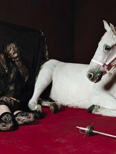 Vogue Italia December 2015 | Kate Moss | Tim Walker