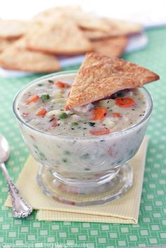 Chicken Pot Pie Soup