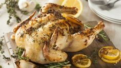 Roasted Chicken from The Stash Plan From Laura Prepon   The Dr. Oz Show