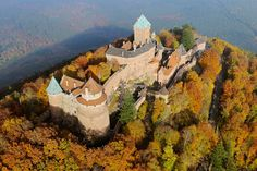 50 natural destinations which should always be fall - Monte Stophanberch (France): Autumn in Alsace