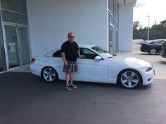 #FieldsBMW congratulates Ray on picking up his beautiful 2008 #BMW #335CV from our dealership in #DaytonaBeach! Thanks for choosing Fields! #FieldsBMW #BMW #DaytonaBeach