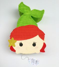 Little Mermaid Tsum Tsum Inspired Surprise Piñata!  Surprise Piñata is a gift delivery service of personal sized pinatas!   Fill it with pretty much anything and ship across the United States! Surprisepinata.com