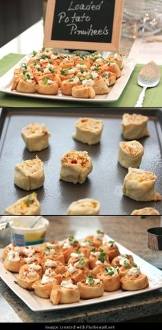 #Pillsbury Loaded Potato Pinwheels #superbowl #appetizer