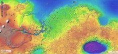 VIDEO. Un spectaculaire survol de Mars - Sciencesetavenir.fr