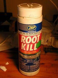 root kill copper sulfate
