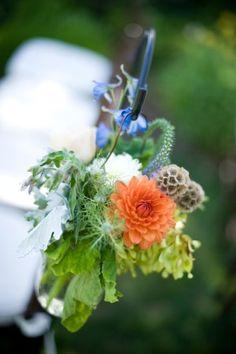 Orange-Green-Hanging-Flower-Decor