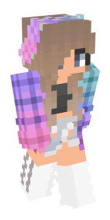 Skin Minecraft Gril Hoodie 27 New Ideas Skins Minecraft, Minecraft Skins Werewolf, Minecraft Skins Unicorn, Minecraft Skins Girl Hoodie, Skin Minecraft Fille, Minecraft Skins Female, Minecraft Horse, Cool Minecraft, Werewolf Girl