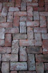 old bricks as a floor in my greenhouse Brick Pathway, Brick Garden, Garden Floor, Garden Paths, Home Greenhouse, Greenhouse Gardening, Greenhouse Ideas, Small Greenhouse, Greenhouse Wedding